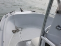 Bow of Marathon FL 21' rental boat