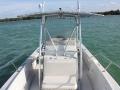 24' Marathon boat rental console
