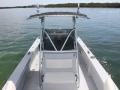 console of 26' Marathon FL rental boat