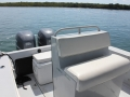 seating on 26' Marathon FL boat for rent