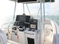 26' Marathon rental boat console
