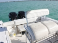 26' Marathon boat rentals seating