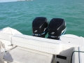 26' Marathon boat rental twin motors